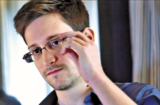 Edward Snowden [People.com.cn]