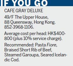 'Everyday dishes' shine at Cafe Gray Deluxe