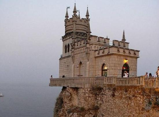 Swallow's Nest, one of the 'Top 10 mountainside buildings in the world' by China.org.cn