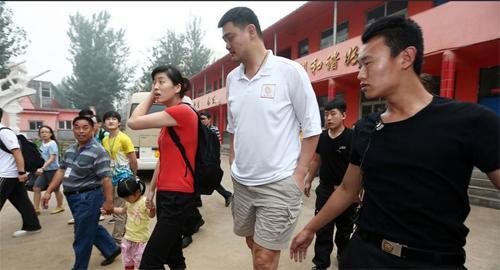 Yao Ming has been focusing on helping underprivileged children across the country, a cause which is supported by his annual charity game.
