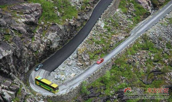 Top Most Dangerous Roads In The World Chinaorgcn - The 10 scariest roads in the world