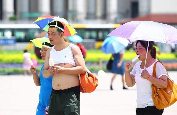 China recorded maximum temperature since 1961