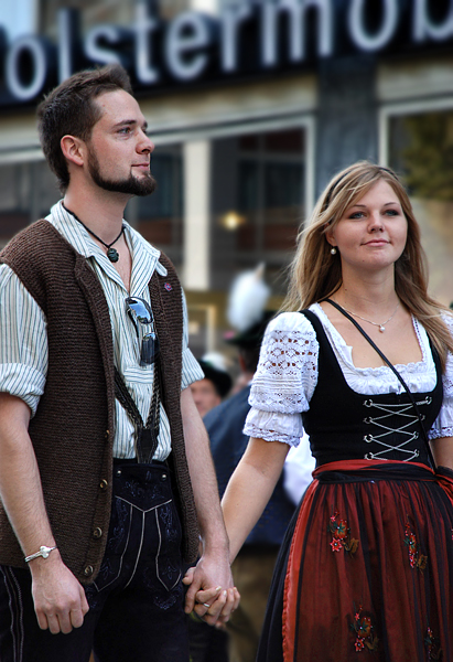 Old Fashioned Austrian Attire