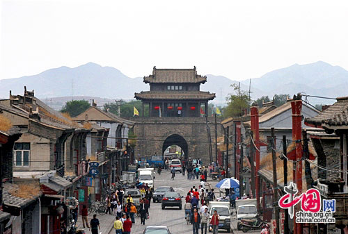Xingcheng Ancient Town, one of the 'top 10 attractions in Liaoning, China' by China.org.cn.