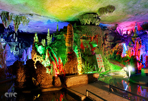 Benxi Water Cave, one of the 'top 10 attractions in Liaoning, China' by China.org.cn.