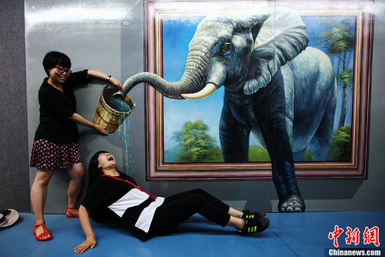 D Exhibition China : Qingdao d art exhibition takes you to jurassic park