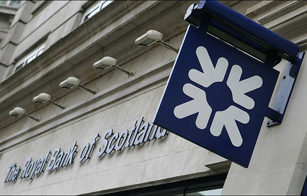 Royal Bank of Scotland,one of the 'Top 20 banks in the world of 2013'by China.org.cn.