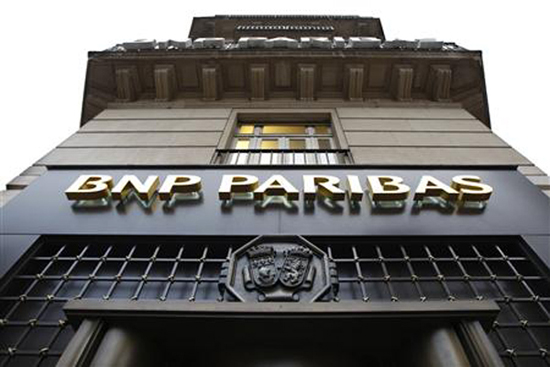BNP Paribas,one of the 'Top 20 banks in the world of 2013'by China.org.cn.
