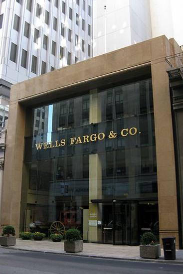 Wells Fargo and Co,one of the 'Top 20 banks in the world of 2013'by China.org.cn.