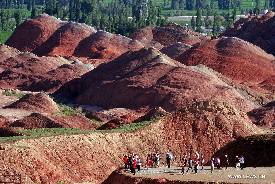 CHINA-GANSU-ZHANGYE-DANXIA LANDFORM (CN)