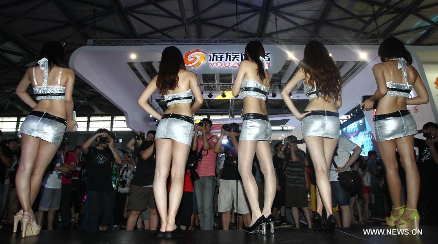 上海2013ChinaJoy游戏展美女云集 China