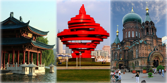 Top 10 happiest cities in China 2013