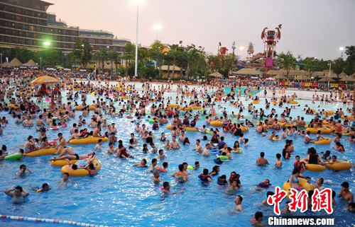 Wuhan, Hubei Province, one of the 'top 10 hottest summer cities in China' by China.org.cn.