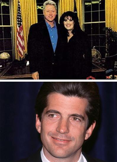 与克林顿缘尽 莱温斯基曾欲勾搭肯尼迪之子