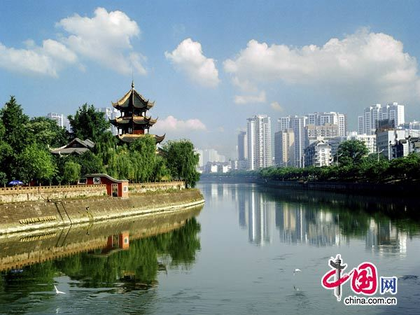 Chengdu, Sichuan, one of the 'Top 10 debt-ridden provincial capitals in China' by China.org.cn.