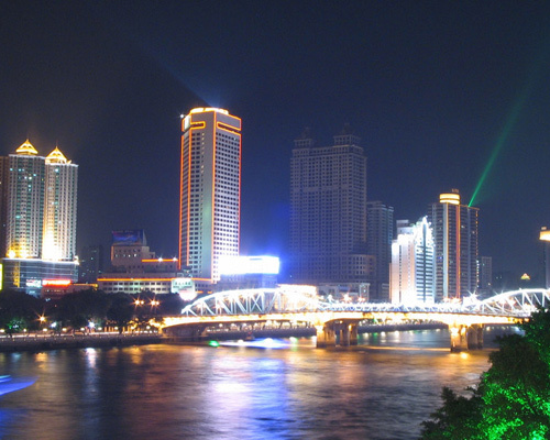 Guangzhou, Guangdong, one of the 'Top 10 debt-ridden provincial capitals in China' by China.org.cn.