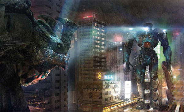 A scene from the hit American science fiction film 'Pacific Rim' [File photo]