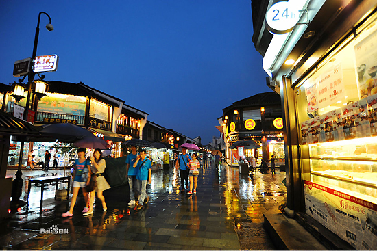 Qinghefang Ancient Street, one of the 'top 10 attractions in Hangzhou, China' by China.org.cn.