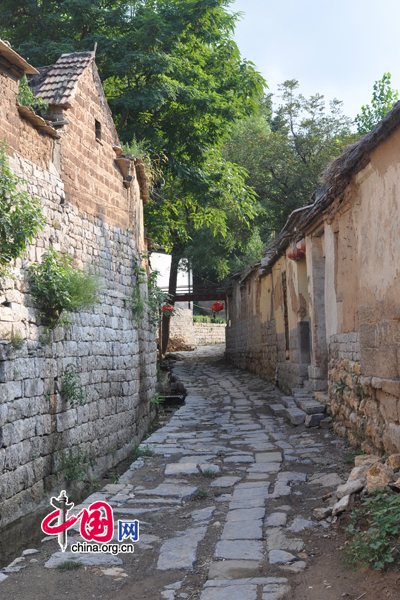 Zhujiayu Village,one of the 'Top 10 attractions in Jinan, China'by China.org.cn.