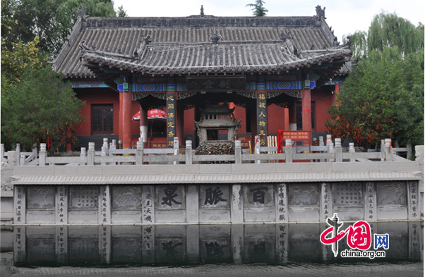 Baimai Spring Park,one of the 'Top 10 attractions in Jinan, China'by China.org.cn.