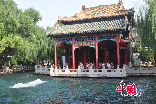Baotu Spring,one of the 'Top 10 attractions in Jinan, China'by China.org.cn.