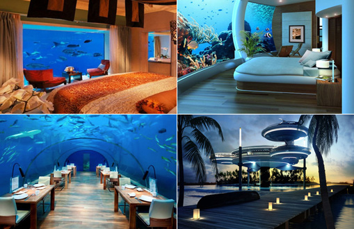 Top 5 Amazing Underwater Hotels Around The World
