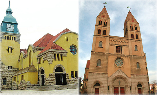 Qingdao Protestant Church and St. Emil Church,