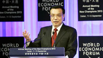 Premier Li attends opening ceremony of Summer Davos