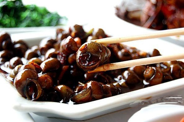 River Snails, one of the 'Top 10 Mid-Autumn Festival foods in China' by China.org.cn.