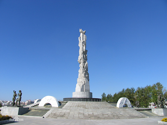 Changchun World Sculpture Park, one of the 'top 10 attractions in Changchun, China' by China.org.cn.