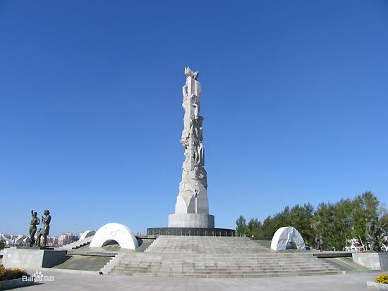"""Parque Mundial de Escultura de Changchun, uma das """"10 melhores atrações em Changchun, China"""" pela China.org.cn."""