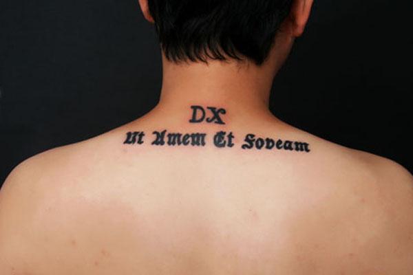 文字纹身之兴起