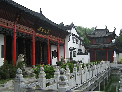 Guiyuan Temple, one of the 'top 10 attractions in Wuhan, China' by China.org.cn.