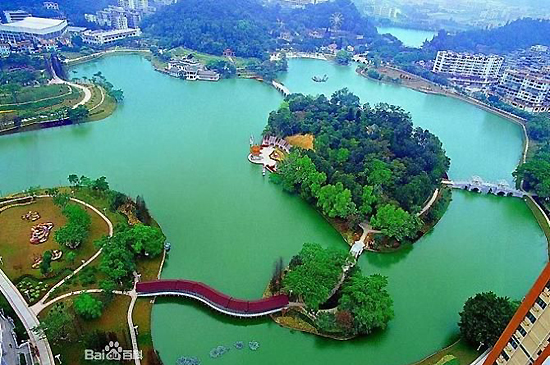 East Lake Scenic Area, one of the 'top 10 attractions in Wuhan, China' by China.org.cn.