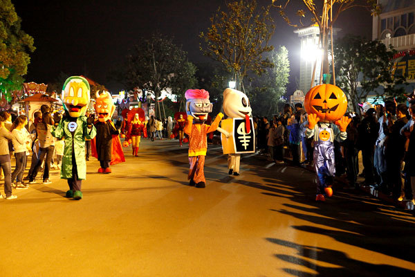 fright nights at shanghai ghost festival