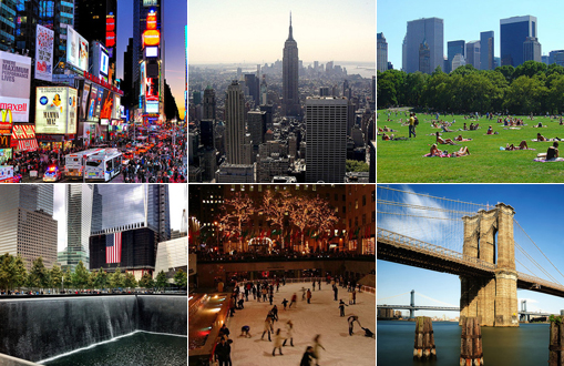 Top 10 tourist attractions in new york city for Top ten attractions new york