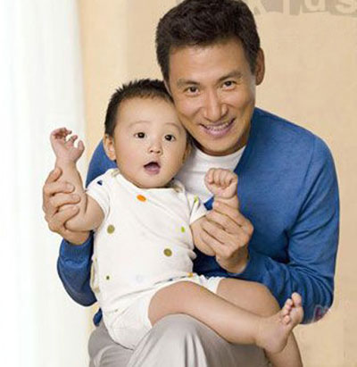 Top 10 Most Popular Star Dads China Org Cn