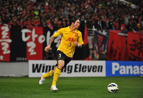 Right-back Zhang Linpeng has missed just one game for Chinese champions Guangzhou Evergrande in the AFC Champions League this season.