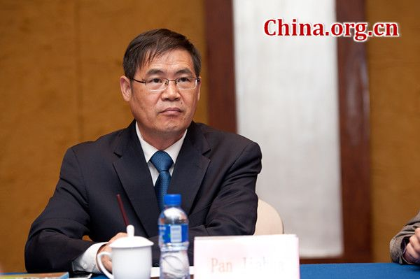 Pan Jiahua, director of the Institute for Urban and Environmental Studies at the Chinese Academy of Social Sciences (CASS). [Photo/China.org.cn/Chen Boyuan]