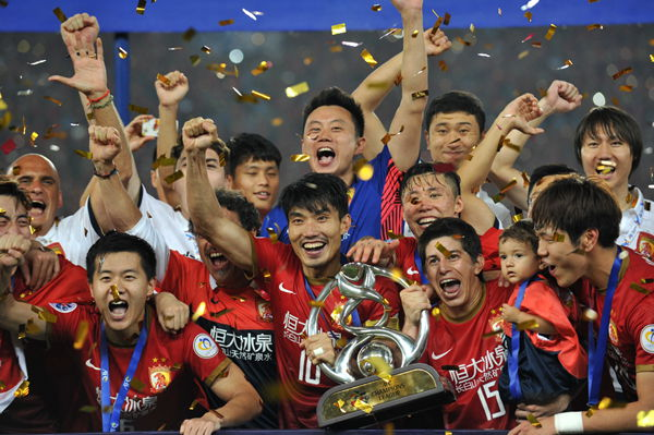 Captain Zheng Zhi played a central role as China's Guangzhou Evergrande won the 2013 AFC Champions League.