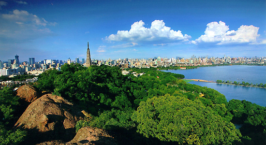 Hangzhou, Zhejiang Province, one of the 'top 10 attractive Chinese cities for expats 2013' by China.org.cn.