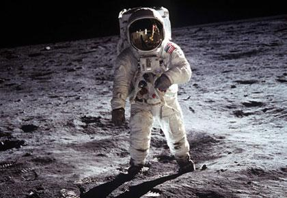 On July 20, 1969, Apollo 11 brought the first men from the Earth to the Moon. [File photo]