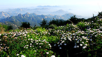 Amazing scenery of Kunyu Mountain in Shandong