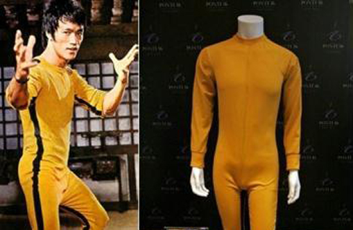 Bruce lee yellow jumpsuit shirt dress