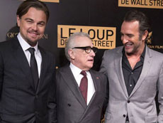 Dicaprio brings 'wolf' to Paris