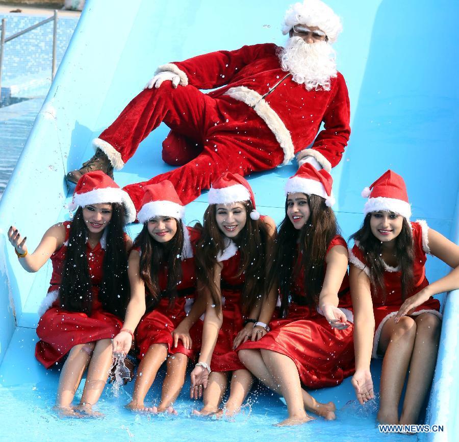 Indians celebrate Christmas - China.org.cn
