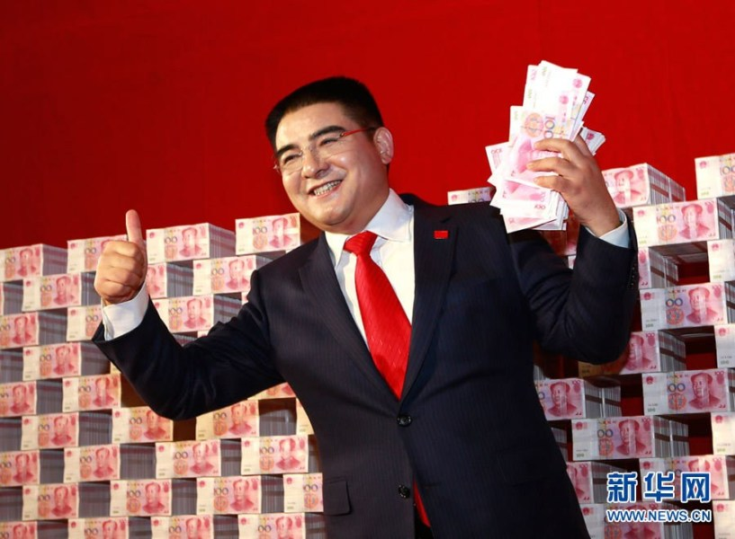 Chen Guangbiao, one of China's 400 richest people, penned an article in the Chinese-language Global Times newspaper headlined: 'I intend to buy the New York Times, please don't take it as a joke.' [photo / Xinhua]