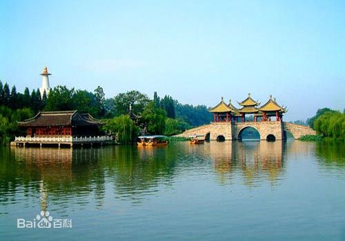 Yangzhou, Jiangsu Province, one of the 'top 10 leisure cities in China' by China.org.cn.