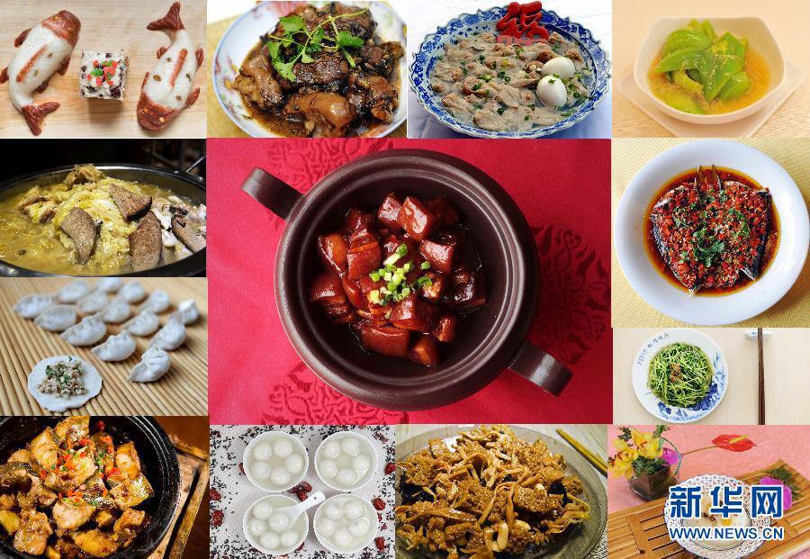 Chinese New Year Traditional Foods Pictures