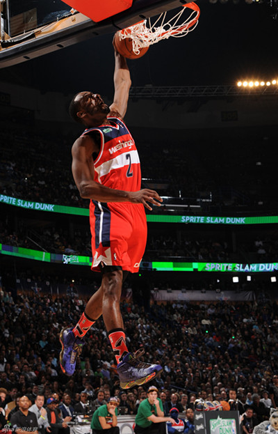 John Wall From The Washington Wizards Won Dunk Contest In 2014 NBA All Star On Saturday Photo Sinacn